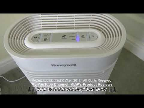 Review of Honeywell Air Purifier True HEPA Allergen Remover HPA100WE