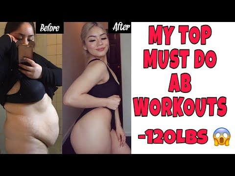 MY AB WORKOUT ROUTINE!!! (MUST WATCH)