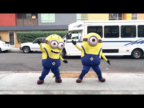 Minions Whip / Nae Nae Dance (Watch Me) | Hit The Quan Dance Next!? #HitTheQuanChallenge