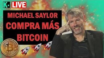 Imagen del video: Saylor compra más Bitcoin, MicroStrategy adquiere 5.050 nuevos BTC   Krolus