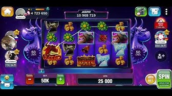 Huuuge Casino Android Gameplay ALL SLOTS