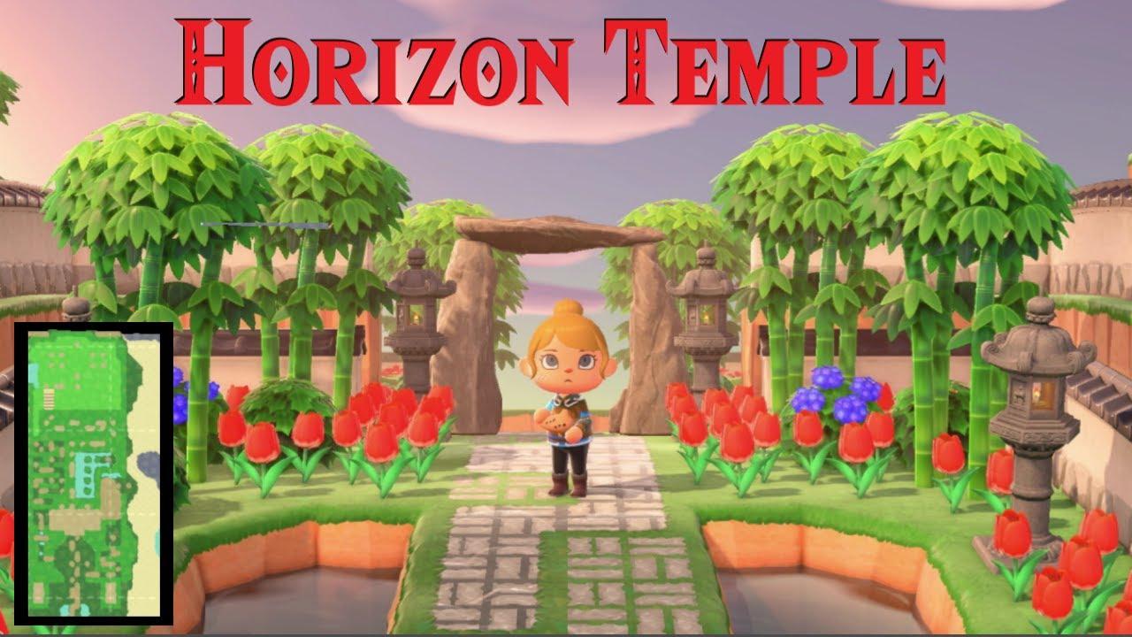 Massive Zelda Dungeon in New Horizons
