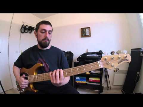 Grover Washington Sassy Stew bass cover