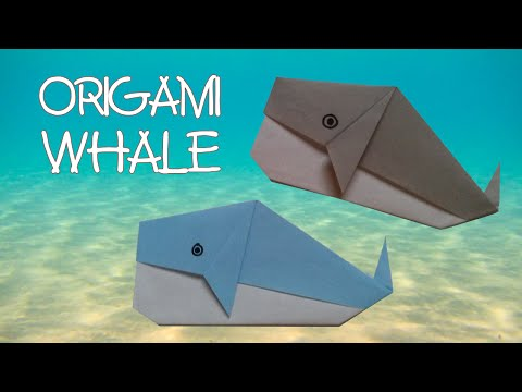 Origami Whale - Origami Easy