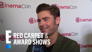 "Zac Efron Lets Loose on His ""Baywatch"" Speedo 