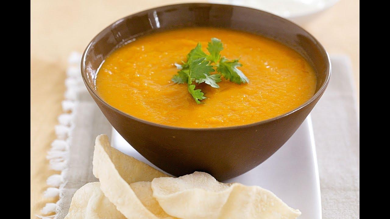 شوربة عدس صحيه و بطريقه سهله Lentil Soup Vegetarian Dish Youtube