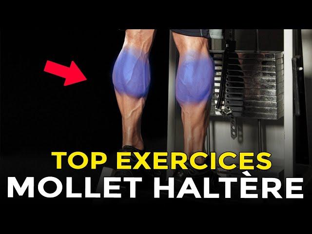 TOP EXERCICES HALTÈRES POUR MUSCLER SES MOLLETS