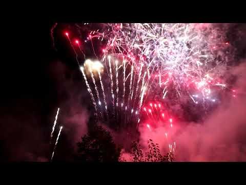 2018 Boy Scouts (Mahoney State Park Nebraska) Jubilee Fireworks w/ Music