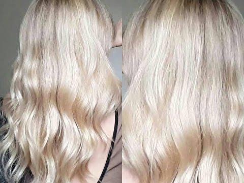 Application Patine & Routine Capillaire♡ Déjaunir!!! Tout les secrets de mon blond
