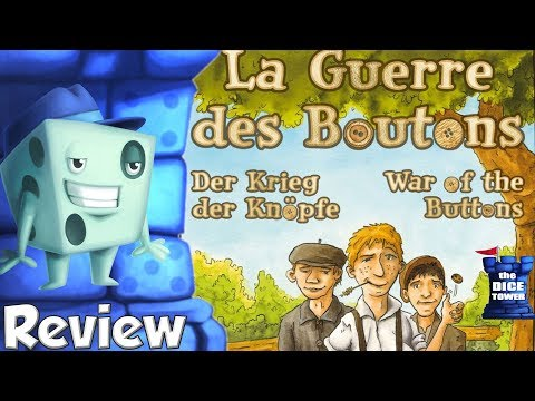 War of the Buttons Review - with Tom Vasel