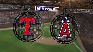 5/4/14: Offensive outburst helps Rangers rout Angels