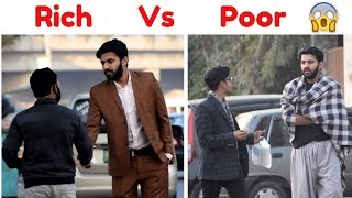 POOR Vs RICH | Asking People For Money (Social Experiment)