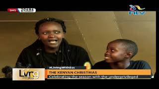 Celebrating Christmas season with the underprivileged || Living With Ess
