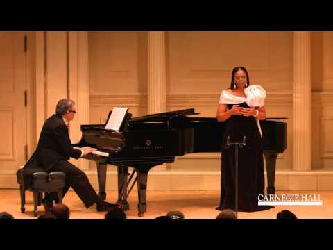Soprano Pretty Yende Sings a selection from Bellini's La sonnambula