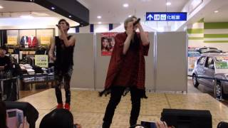 2015/11/15 CODE-Vリリイベ「DANCIN' CIRCLE」@仙台