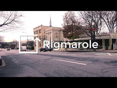INTRODUCING RIGMAROLE | Episode 001| Digital Marketing Agency in Athens, Georgia