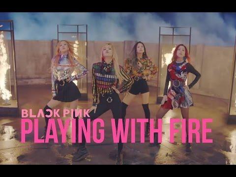 Blackpink Playing With Fire Letra Facil Pronunciacion