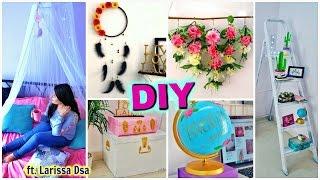Best DIY ROOM DECOR IDEAS - Bed Canopy , Dream Catcher , Wall Decor ft. Larissa Dsa