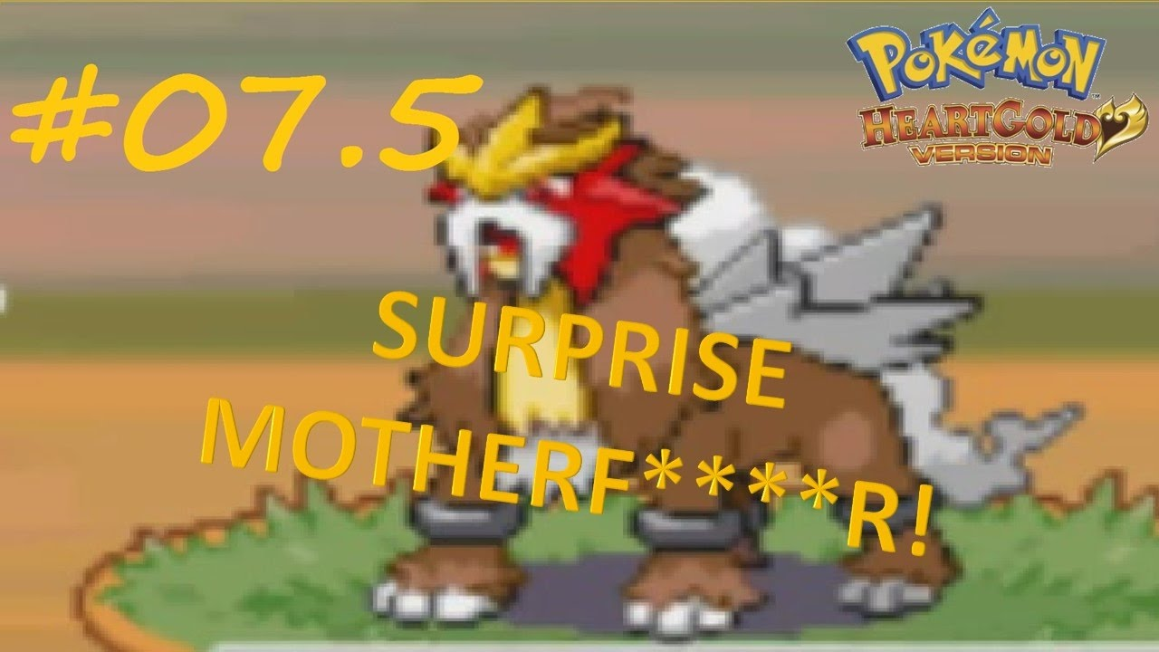 how to catch entei heartgold