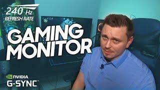 Samsung CRG5 240Hz Gaming Monitor | Vs Acer Predator XB2 | Is It Worth the $$