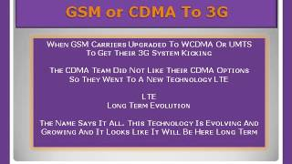GSM vs CDMA(GSM vs CDMA GSM Global System for Mobile Communications and it is the globally accepted system CDMA Code Division Multiple Access and refers to a later ..., 2012-10-23T01:34:27.000Z)