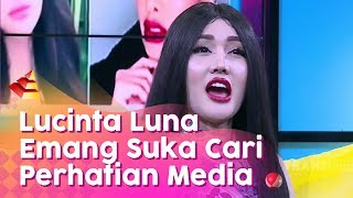 RUMPI - Lucinta Luna Cari Perhatian Media Lagi (17/1/20) PART1