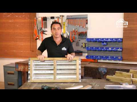 Builders DIY YouTube Series: Episode 2 (Galvanised Planter Box)