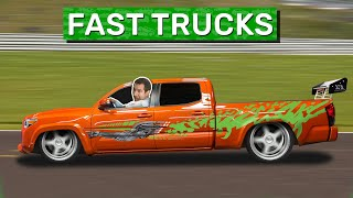 homepage tile video photo for Here Are the 10 Coolest Fast Trucks Ever Made