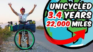 Ed Pratt - Unicycled 22,000 Miles Around The World
