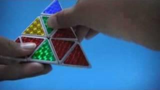 การเล นร บ ค 3 เหล ยม pyraminx ไทย