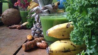 Turmeric Pineapple Kale Smoothie ~ Refined Recipe