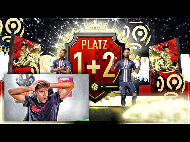 FIFA 20: PLATZ 1 & 2 DER WELT  😍 12X TOP 100 REWARDS  🙏🏼 LIGUE 1 TOTS