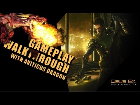 Deus Ex: Human Revolution - Gameplay - Part 8 - Traveling to Shanghai & The hacker named Windmill