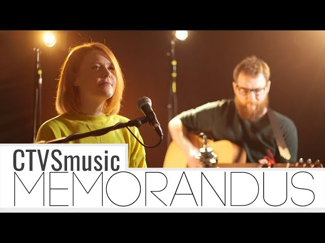 Memorandus - When I close my eyes || CTVSmusic