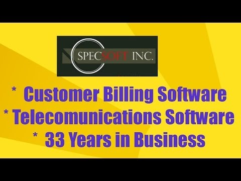 The best custom software for the telecommunications industry in Nebraska SpecSoft
