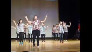 救世軍埔里隊懇親大會舞蹈表演SHINE JESUS SHINE
