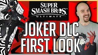Super Smash Bros Ultimate - Joker DLC - FIRST LOOK - Live!