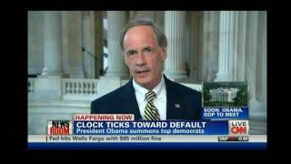 "Sen. Tom Carper on CNN Newsroom Discussing the ""Gang of Six"" Plan for Deficit Reduction"