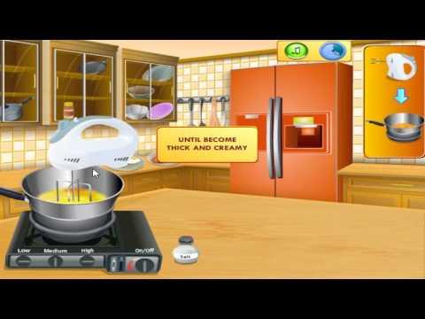 เกมส์ทําอาหาร Saras Cooking Clas Eggs Benedict