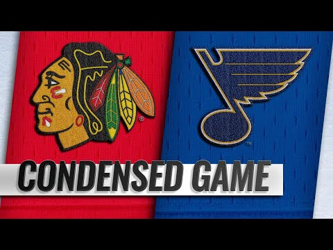 10/27/18 Condensed Game: Blackhawks @ Blues