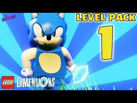 LEGO Dimensions Gameplay ITA #1 - Pacchetto Livello Sonic The Hedgehog - PS4