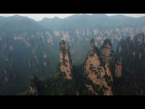 "Avatar ""Hallelujah"" Mountains, Zhangjiajie, Hunan Province, China"
