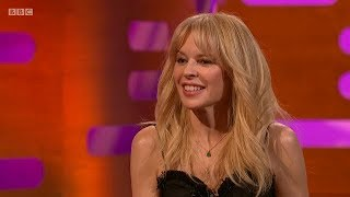 Kylie Minogue on The Graham Norton Show + Music - Stop Me from Falling. 6 Apr 2018