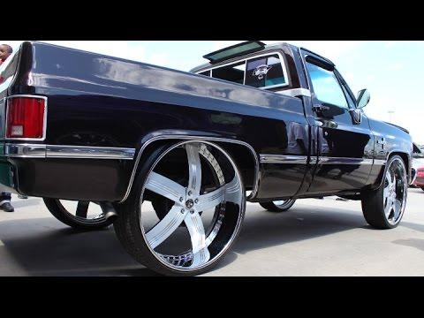 """Chevy Silverado Custom Wheels >> Veltboy314 - Chevy Silverado on brushed 30"""" DUB Wheels - YouTube"""
