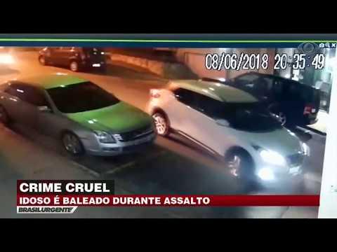 Idoso é Baleado Durante Assalto Em São Paulo
