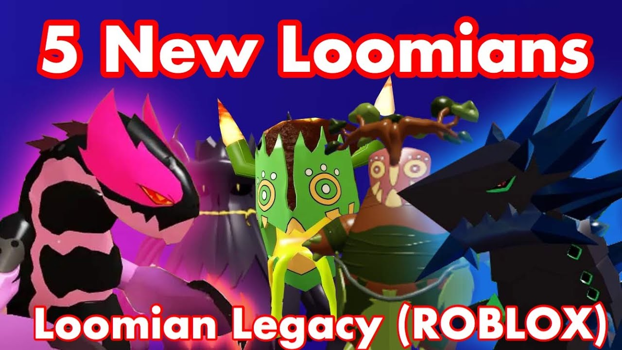 5 New Loomians And Their Evolution Loomian Legacy Gleaming