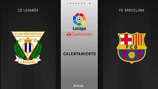 Download Video Calentamiento CD Leganés vs FC Barcelona MP3 3GP MP4