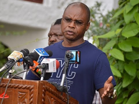 Amason Kingi hits at Jubilee over impromptu transfer of police officers ahead of election