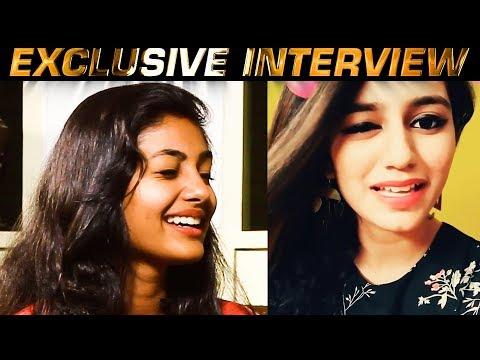 Naachiyaar Heroine Imitates Priya Varrier's Wink | Ivana | US 178
