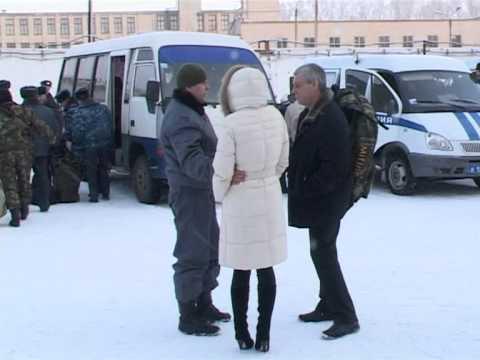 В Орск вернулись милиционеры из Чечни.